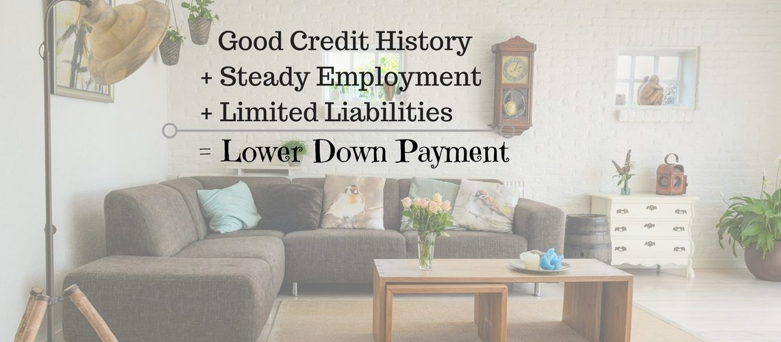 How To Buy A Home With a Lower Down Payment