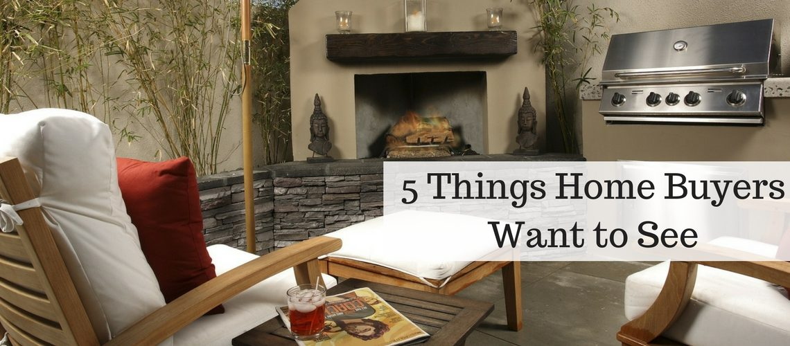 5 Things Home Buyers Want to See