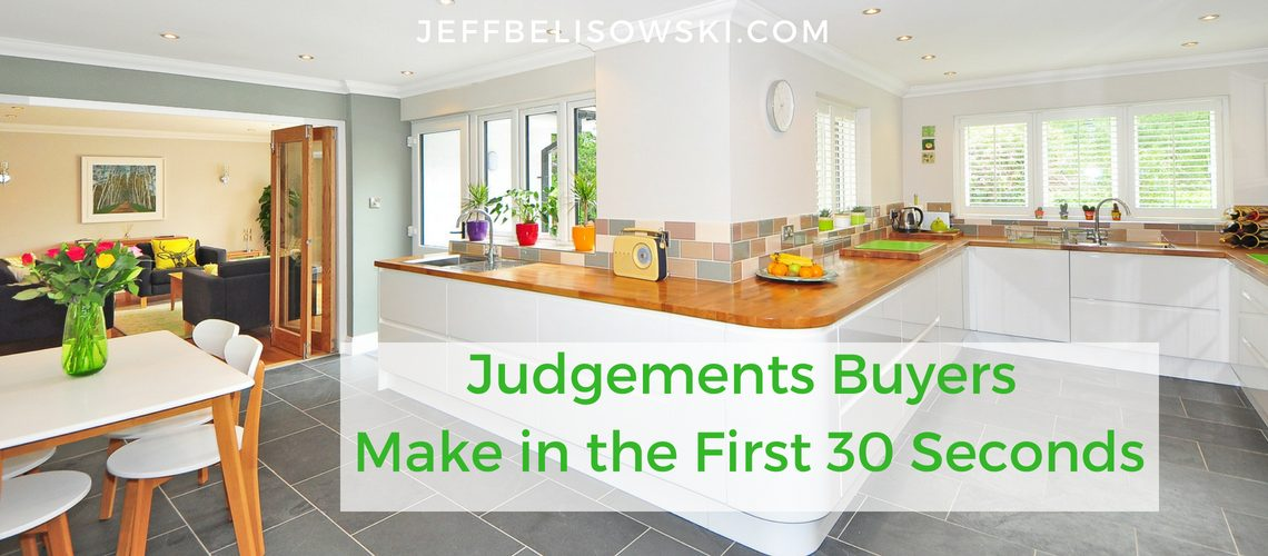 Judgements Buyers Make in the First 30 Seconds