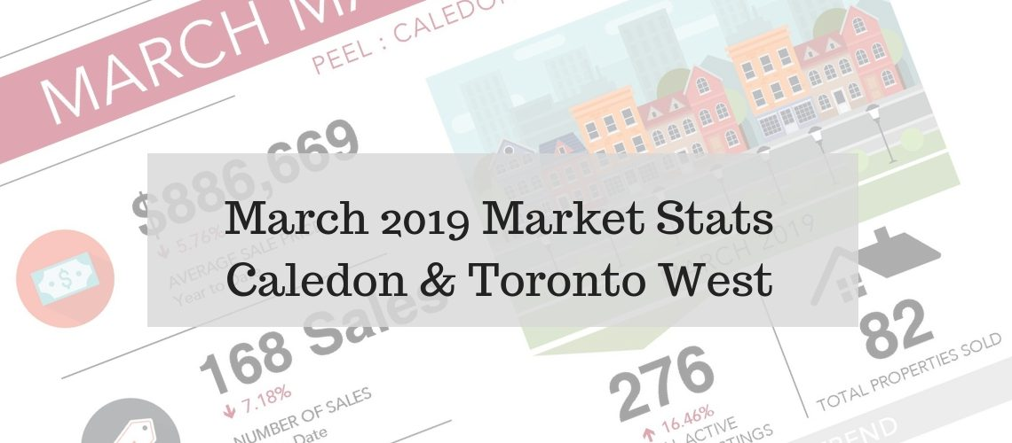 March 2019 - Real Estate Stats for Caledon and Toronto West