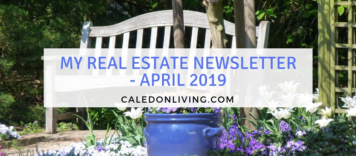 Your April Real Estate Update from Jeff Belisowski