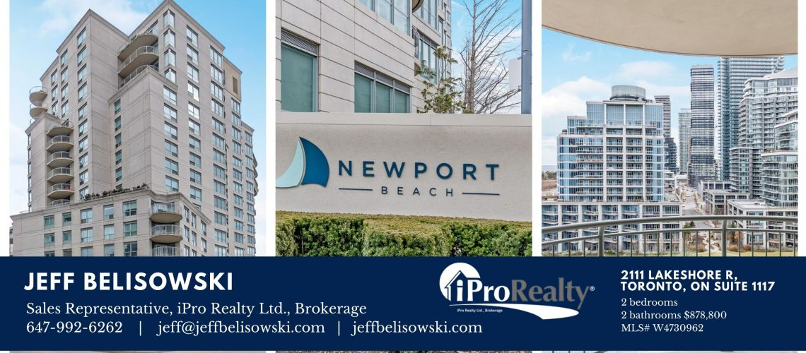 FOR SALE - 2111 Lakeshore Rd in Toronto, Ontario Suite 1117 - W4730962 - Header2