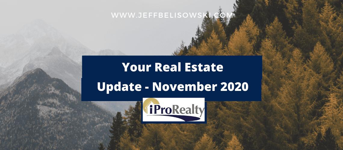 November 2020 Real estate Update from Jeff Belisowski