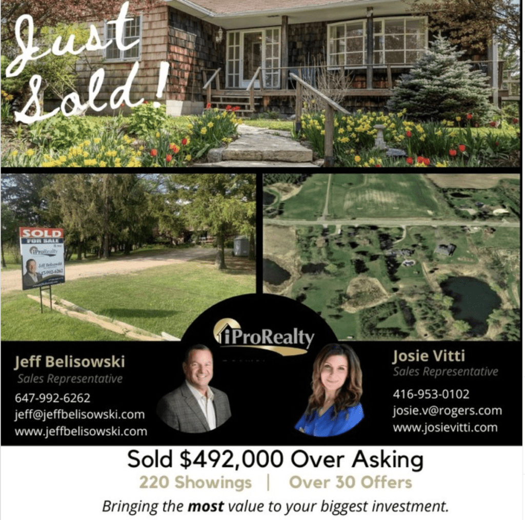 Congratulations and Thank You to our sellers on The Gore Road.